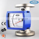 High accuracy wide measuring range variable area argon gas flow meter