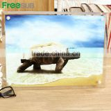 Freesub BL-13 L390*H290*W10mm sublimation photo glass for frames