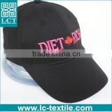 LCTN1874 Fashion cotton fitted Female women's baseball cap for canadians