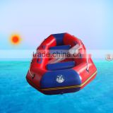 3persons whitewater rafting boat with inflatable floor for drifting, rescue and fishing use