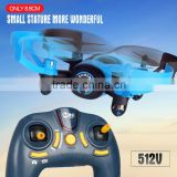 Quadcopter Drones RC Helicopter Quad Copter Toys - Micro Mini Nano Size - 3D Flip Air Light Show - 6 Axis Gyro