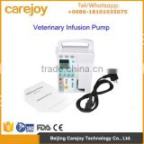Promoting Vet Veterinary Infusion Pump for animal use with CE ISO certified Audible and visible alarm