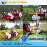 Whirlston Hot sale in INDONESIA middle rice wheat paddy soybean grain combine harvest machine