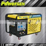 Top Seller!!!POWER-GEN Air Cooled Low Oil Cnsumption and Low Noise 10kw Diesel Welding Machine Generator