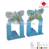 BE002 cute shaped bookend/library bookend/metal bookend/student bookend