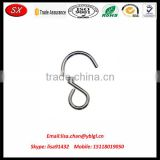 OEM/ODM various size metal s shaped hooks, aluminium snap hook