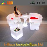 nightclub ice bottle bucket/cocktail led furniture/ drink led ice bucket