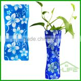 2017 Diy Wedding Foldable Decoration Art Flower Plastic Vase for roses