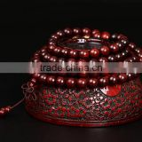 W11238G 2016 India lobular red sandalwood sandalwood bracelets 108 Wholesale 8mm Prayer beads bracelet male