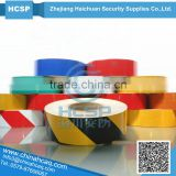 2014 PVC Clear Reflective Hazard Warning Sheeting Tape self adhesive reflective warning sheeting