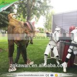 KAWAH China Supplier Good Looking Hot Sale Customized Animatronic Dinosaur Costume For Sale