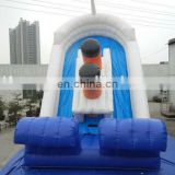 Small Inflatable Sinking titanic water slide /titanic inflatable slide /inflatable titanic slide for sale