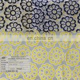 2014 new burnt out lace design poly /cotton lace fabric for garments