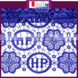 tokay lace blue cord lace fabric guipure lace fabric african lace fabrics for women dresses