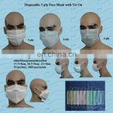 3ply nonwoven surgical mask with FDA certificate
