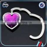 heart purse hook for bag hanger