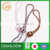 Wholesale Custom Phone Strap Soft Rubber Silicone Mobile Charm
