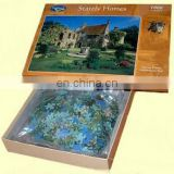 Customize full color printing various shape cardboard jigsaw puzzle