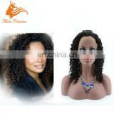 Top Quality Glueless 8A Unprocessed Virgin Human Hair Deep Curly Good Sale Stock Jewish Lace Wig