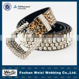 customized design fashionable women beaded crystal belts