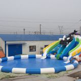 Giant inflatable water park ax-04