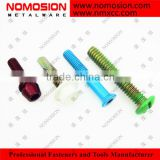 Hex Washer Head with EPDM zinc plated color printed self drilling screw