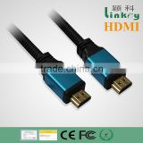 [Aluminum Alloy HDMI ] High speed 24k gold plated HDMI Cable with Ethernet, Ver.hdmi 1.4 1.8m hdmi cable
