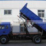 4x2 dump truck CL3160 payload 8Mt 82kw/130Hp diesel truck 3 seats with sleeper (5.2m cargo bed)