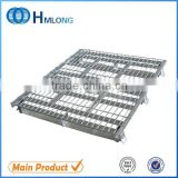 Supporting use stacking mild steel pallets euro pallets
