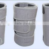 Outdoor sport gray elastic knee support pullover kneepads