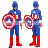 Halloween Party Children's Day Boy Clothing America Captain Soldier Cosplay Costumes