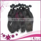 hair beautiful virgin indian/brazilian/peruvian hair weave/weft