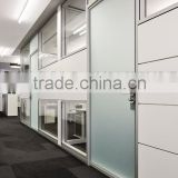 Modern Nice Design Demountable Office Partition Glass Wall with Doors(SZ-WS640)