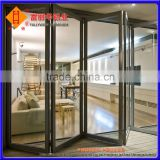 Thermal-Break Aluminum Awning Door with Tempered Glass