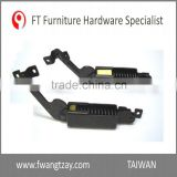 Taiwan Wholesale Reliale Small Box Antipinch Metal Spring Loaded 2.3/2.6/2.8/3.0 mm Friction Stay Hinge