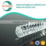 Transparent clear plastic pmma acrylic twisted tube