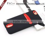 Fast selling Non-slip shockproof 1.5m drop test TPU back cover power case for iphone 6 with card slot                                                                                                         Supplier's Choice