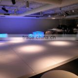 GS hot selling white dance floor panels Easy install cam-lock connect mechanism                                                                         Quality Choice