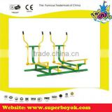 Body Building Outdoor Exercise Equipment For Park And Community Galvanized Steel Outdoor Fitness Equipment