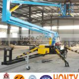 14M Diesel Engine &380V Electricity double used multifunctional crank arm type hydraulic movable lifting platform