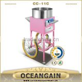 CC-11C CE RoHS Electric Cotton Candy Machine with Cart                                                                         Quality Choice