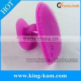 baby silicone hairbrush for baby bath accessories