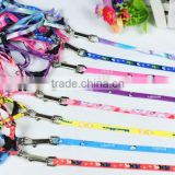 New Arrival Printed Polyester Harness for Pet, Various Colors Dog Leashes 1/3