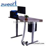 electric sit standing adjusting office table desk