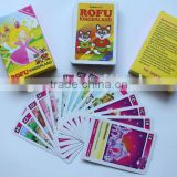 Paper card, paper game card for kids, confirm to EN71                                                                         Quality Choice