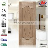 JHK-000 Good Quality Economic Engineered OAK-609 Moulded HDF MDF Veneer Door Sheet Manufacture