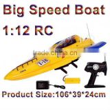 RC Big Boat 1:12 RC Speed Boat Radio Cntorl Big Boat