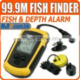 Digital Fishfinder Sea Ocean River Lake Detect Alarm Portable Sonar Fish Finder