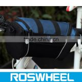 Wholesale China manufacture waterproof canvas bicycle handlebar bag 11494 carbon integrated handlebar bag