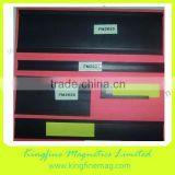 rubber magnetic profile,magnetic profiles 50mm width,c channel profile,extruded rubber strip,profile label holder